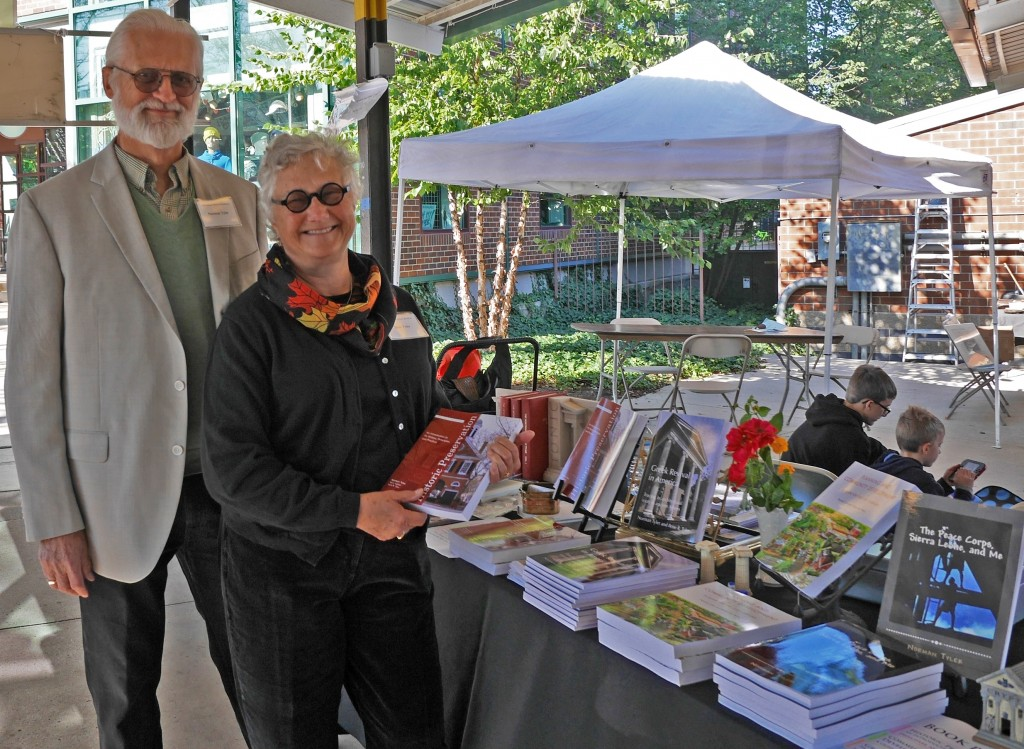 Tyler table at Bookfest 2015